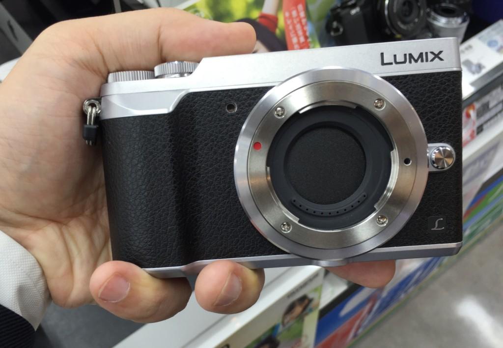 Lumix GX7 Mark II 正面画像
