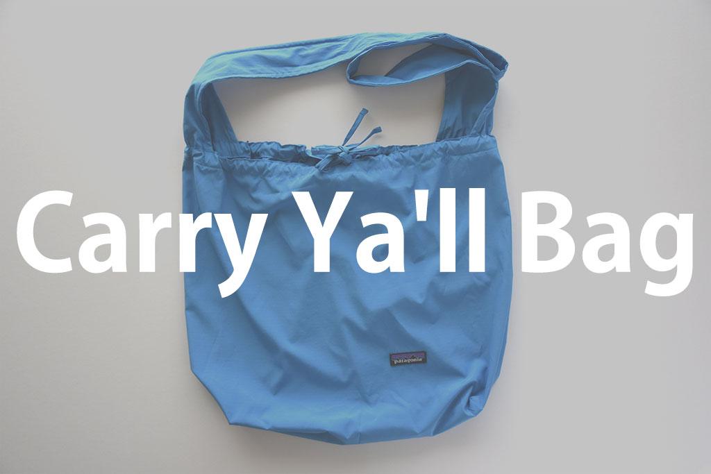 パタゴニアエコバッグCarry Ya'll Bag